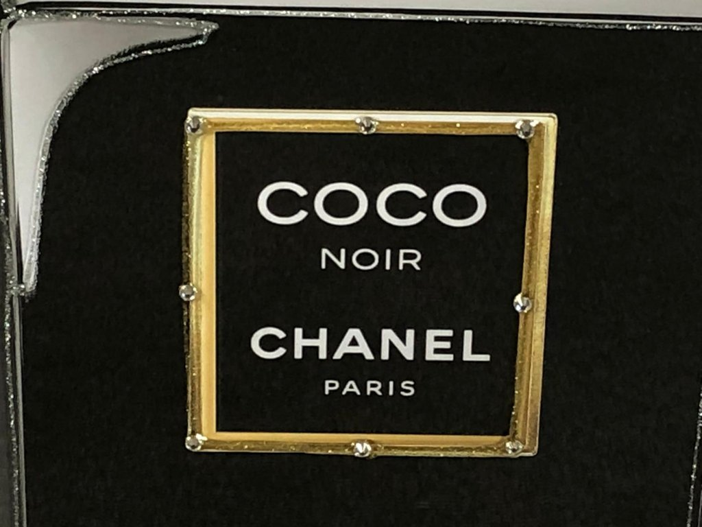 cb019aa78129 Liquid Art Picture of a Chanel Coco Noir Perfume Bottle
