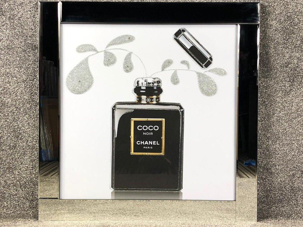 845eb1a8073d Lot 40 Liquid Art Picture of a Chanel Coco Noir Perfume Bottle